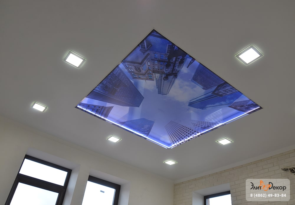 3D Потолок 05