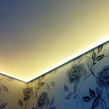 Парящие натяжные потолки — уникальность, лёгкость, необычность.